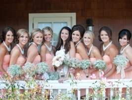 Bridesmaids: Photo by Blair Nicole Photography via Heather Renee Celebrations