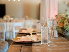 Reception Tablescape: Photo by Blair Nicole Photography via Heather Renee Celebrations