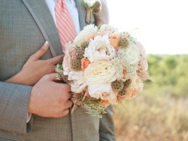 Bridal Bouquet: Photo by Blair Nicole Photography via Heather Renee Celebrations