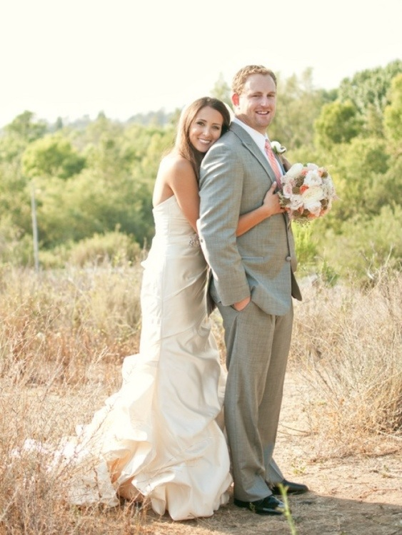 Bride and Groom: Photo by Blair Nicole Photography via Heather Renee Celebrations