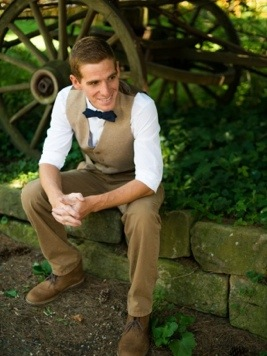 The Groom: Photo by Menning Photographic via Heather Renee Celebrations