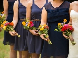 Bridesmaids: Photo by Menning Photographic via Heather Renee Celebrations