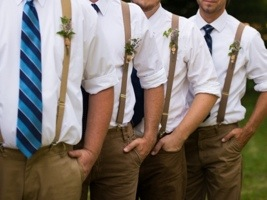 Groomsmen: Photo by Menning Photographic via Heather Renee Celebrations