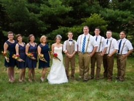 Bridal Party: Photo by Menning Photographic via Heather Renee Celebrations