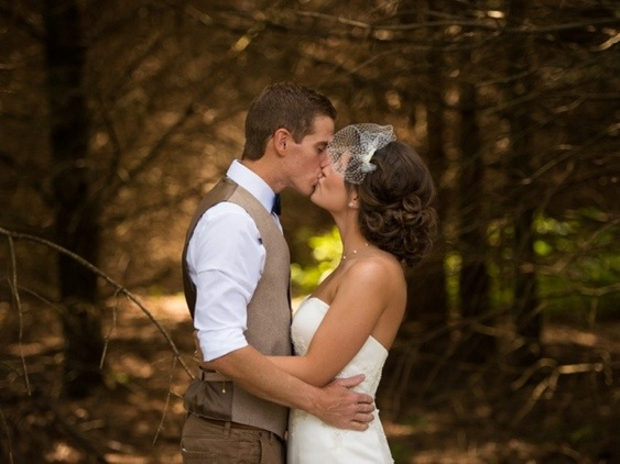 Newlyweds: Photo by Menning Photographic via Heather Renee Celebrations