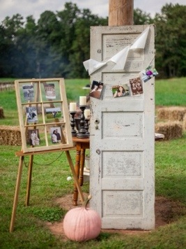 country wedding decor photo by love it forever photography via heather renee celebrations