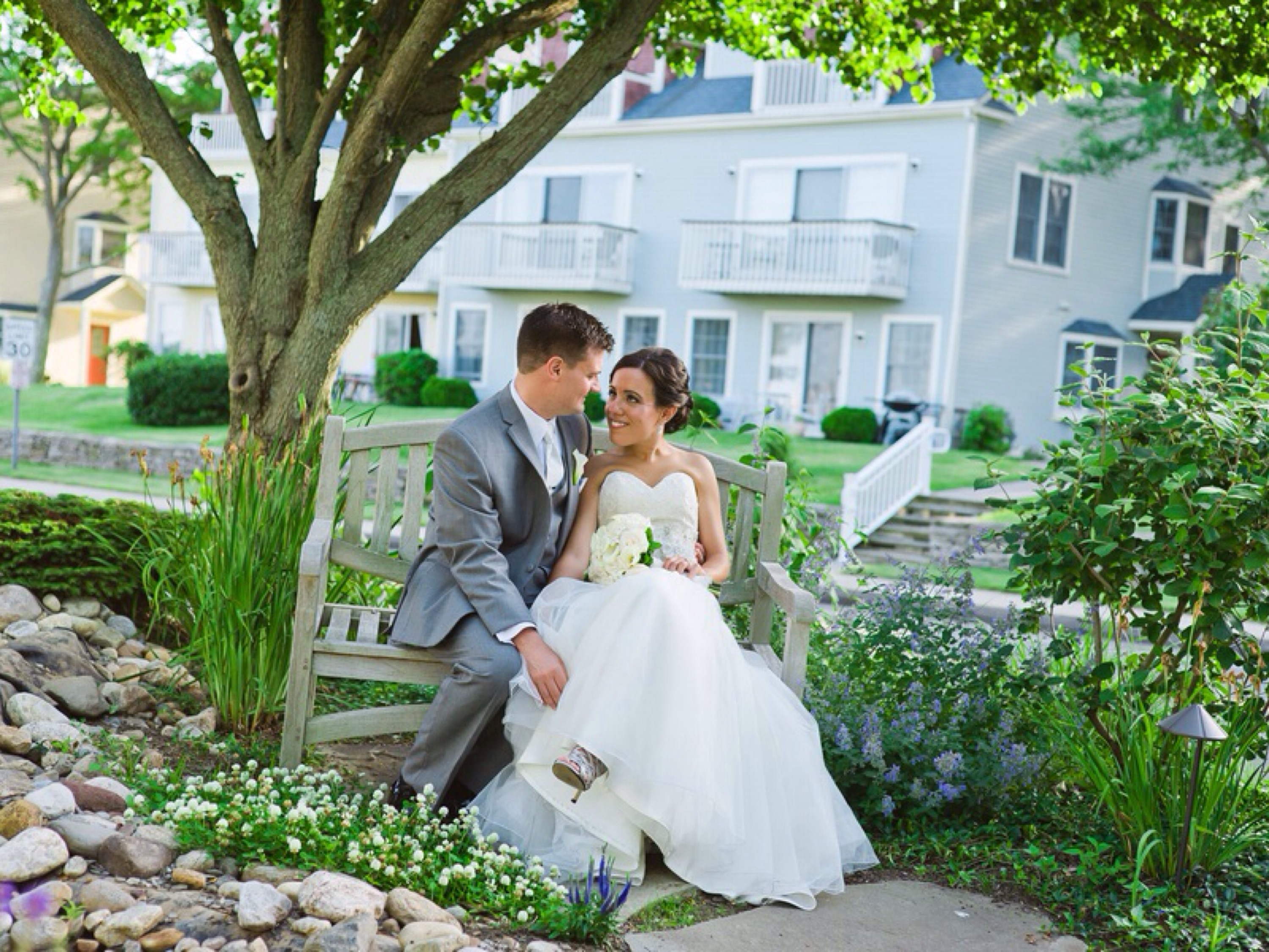 Waterside inn wedding