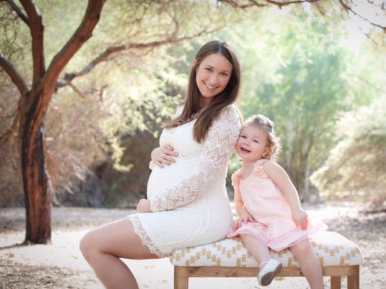 East Wetlands Park Maternity Session {The Honeycutt Family}