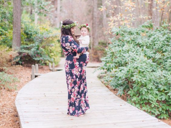 Vines Botanical Garden Maternity Session {Codie & Jessica}