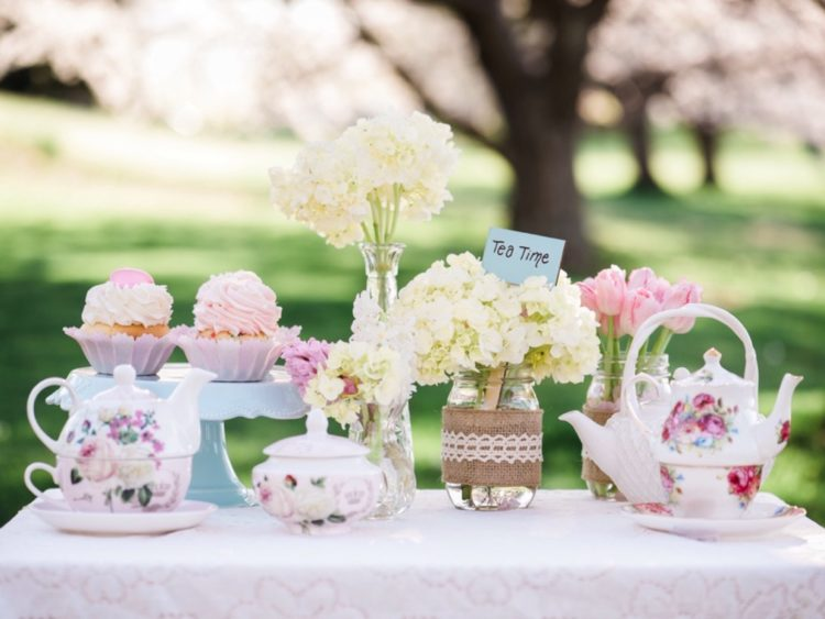 Cherry Blossom Tea Party {The Durgin Family}